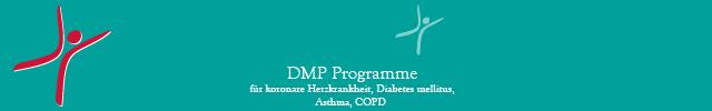 DMP Programme für koronare Herzkrankheit, Diabetes mellitus, Asthma, COPD
